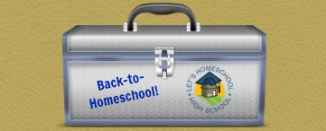 Back-to-Homeschool Toolbox